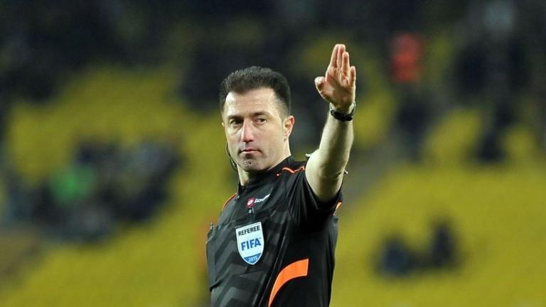 УЕФА прати турски съдия за плейофа между Торпедо и Лудогорец