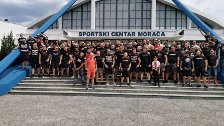 Феновете на ЦСКА пристигнаха в Черна гора. Те ще бъдат
