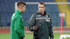 Хубчев с важна молба преди мача с Беларус