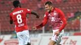 ЦСКА отнесе Етър с 3:0, изравни се по точки с Левски