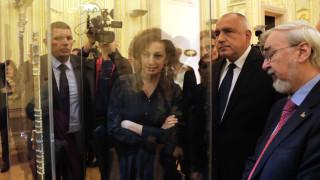 Борисов разгледа меча на кан Кубрат и настоя, че заветът му е рецепта за успешна България