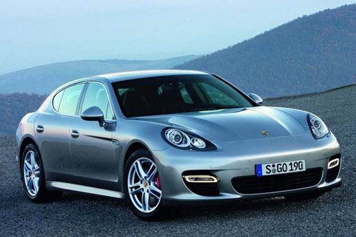 Porsche разкри и Panamera (галерия)