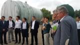 """Китайски ядрени и енергийни експерти посетиха площадката на АЕЦ """"Белене"""""""