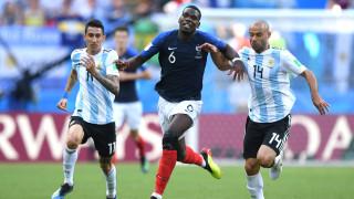 Франция - Аржентина 4:3 (Развой на срещата по минути)
