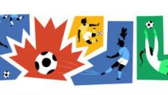 Google отбеляза началото на Световното първенство по футбол за жени