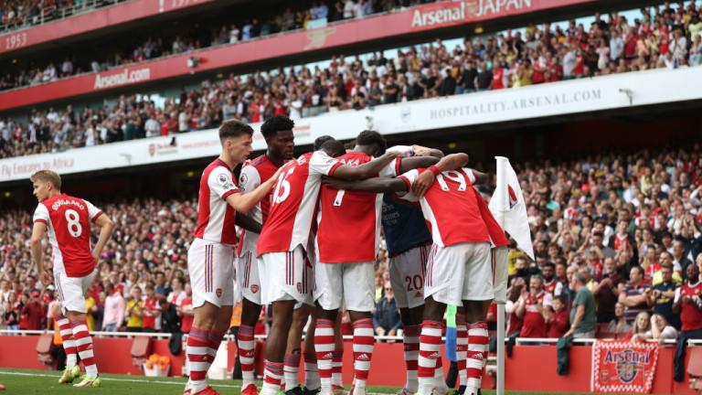 Арсенал най-после стигна до първи успех от началото на сезона в Англия