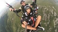 Ани Хоанг полетя с Батман