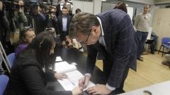 40,7% избирателната активност към 17 ч. на президентския вот в Сърбия