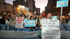 Милиони аржентинци на протест срещу Кристина Кирхнер