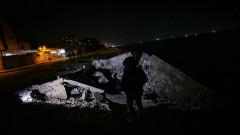 Израелски удари над Газа в отговор на ракетен обстрел