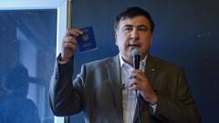Саакашвили планира да обедини опозицията в Украйна срещу Порошенко