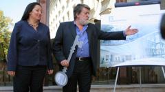 София шампион по строеж на музеи, Рашидов размаха ключа на Българския Лувър