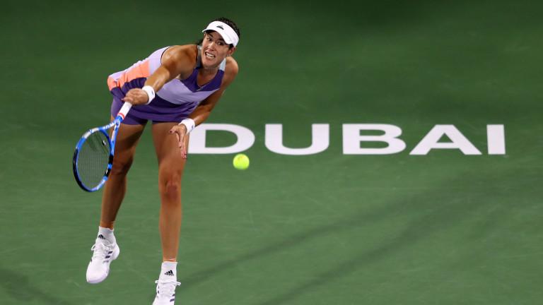 Гарбине Мугуруса се класира за втория кръг на турнира в Дубай