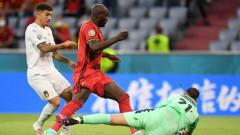 Белгия - Италия 1:2 (Развой на срещата по минути)