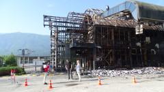 """Възстановяват изгорялата сграда на ГКПП """"Златарево"""""""