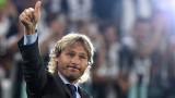 Недвед обяви съдбата на Андреа Пирло и Кристиано Роналдо в Ювентус
