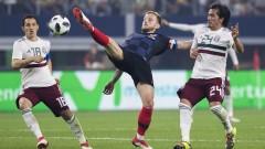 Хърватия надви Мексико пред повече от 70 000 зрители