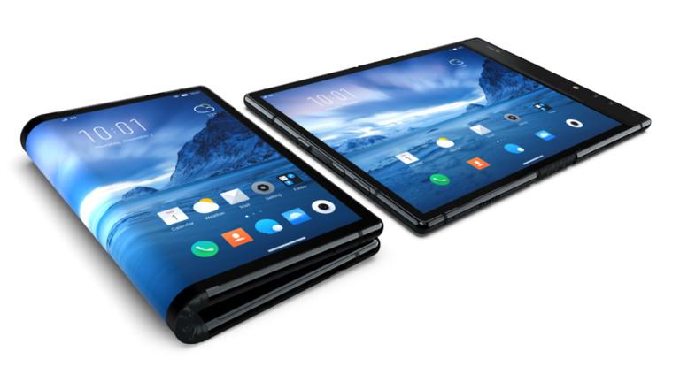 Снимка: Малко позната китайска компания изпреварва Samsung с първия гъвкав смартфон