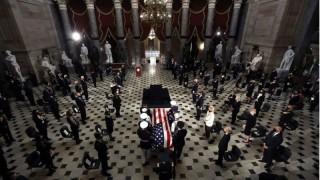 В Конгреса се прощават със съдия Рут Гинсбърг