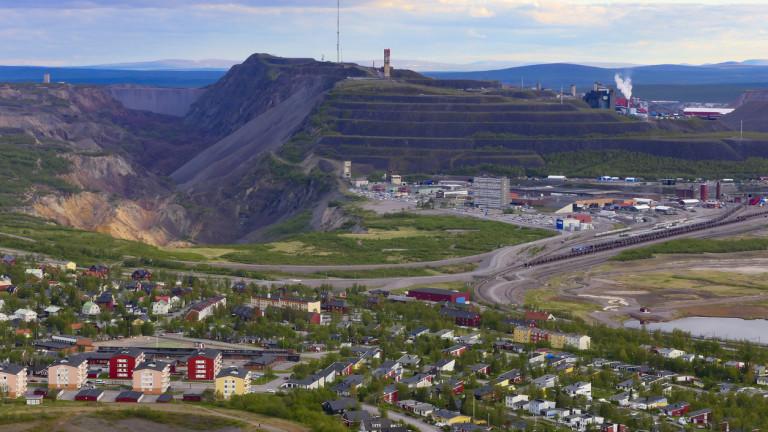 Снимка: Шведският потъващ град и планът за $1 милиард за неговото преместване