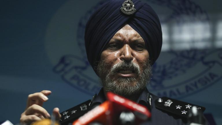Малайзийската полиция е открила 28,6 милиона долара и над 400