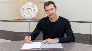 Мирослав Клозе може да поеме клуб от Втора Бундеслига