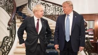 """Тръмп кани Джонсън в Белия дом за """"огромна"""" търговска сделка"""