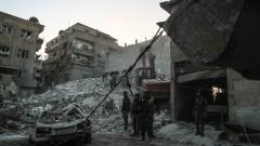 Армията на Асад разкъса на две Източна Гута