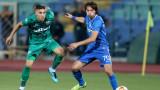 Мартин Райнов вече тренира с маска, може да играе срещу Славия като защитник