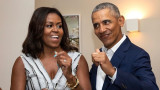 Барак Обама, Мишел Обама и годишнината от сватбата им