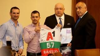 Министър Кралев представи Алберт Попов на премиера Борисов и министрите от кабинета