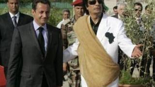Париж финансира бунтовници с пари на Кадафи