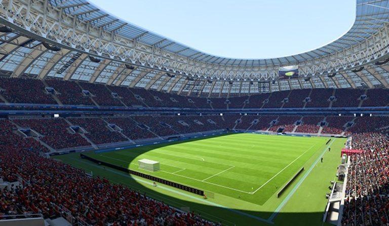 """Така ще изглежда стадион """"Лужники"""" в играта"""