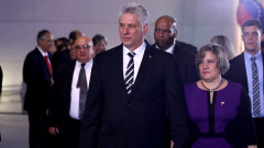 """Новият кубински лидер със """"солидарно"""" посещение във Венецуела"""