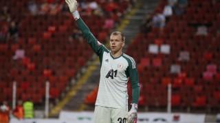 ЦСКА има добър вратар, Черниаускас с отлично постижение