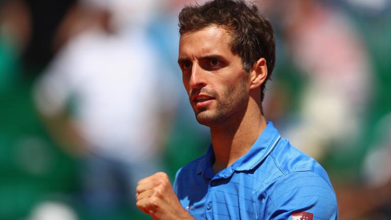 Алберт Рамос-Виньолас е първият полуфиналист в Монте Карло
