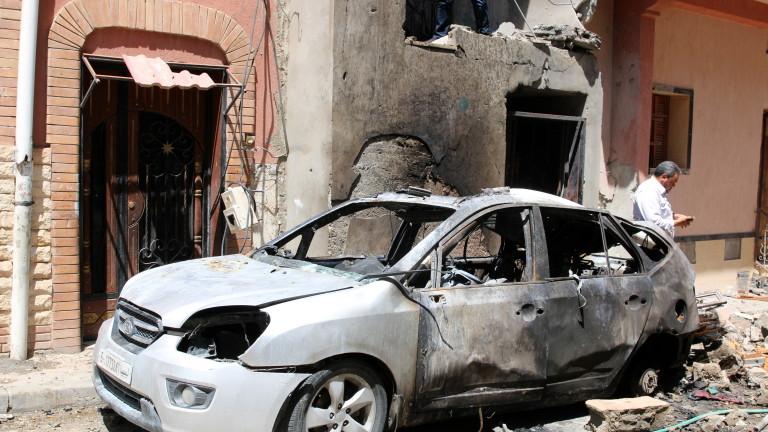 Снимка: Силите на Хафтар свалили боен самолет югоизточно от Триполи