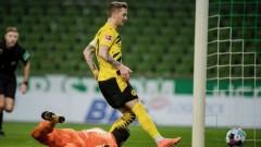 16-годишен титуляр за Борусия (Дортмунд) при победа над Вердер