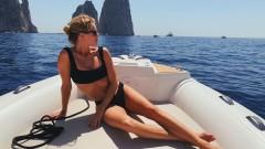 Секси ваканцията на Роузи Хънтингтън-Уайтли