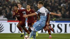 Рома - Лацио 1:1, гол на Ачерби