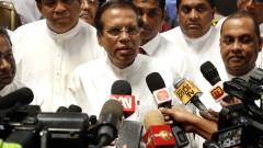 Президентът на Шри Ланка поиска оставките на военния министър и шефа на полицията