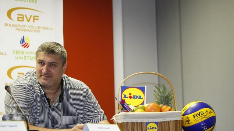 Вицепрезидентът на Българската федерация по волейбол Любомир Ганевпотвърди пред Sportal.bg,