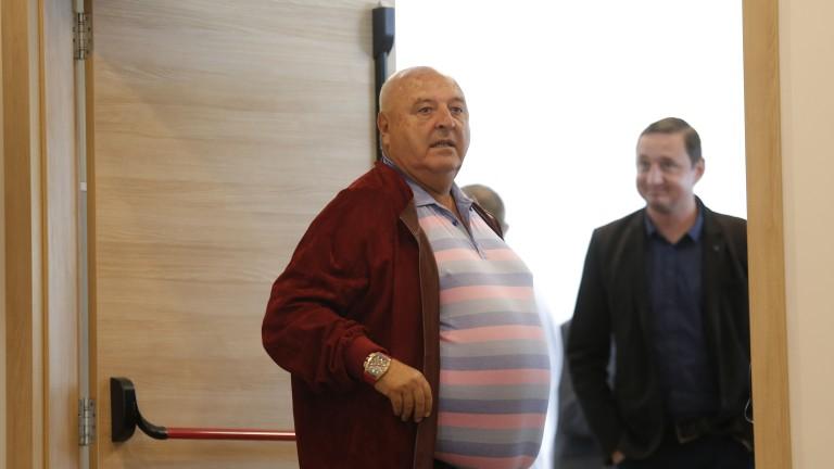Венци Стефанов разкри подробности около реновирането на стадиона на Славия
