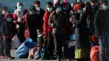 Голям пожар унищожи център за мигранти на Лесбос