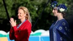 Стефка Костадинова предизвика фурор в Минск