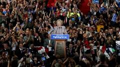 Клинтън води с 6% на Тръмп