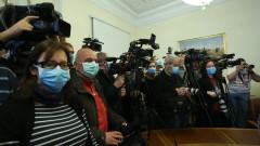 Журналистите при Борисов - само след преглед и с маска