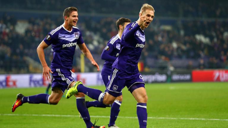Андерлехт елиминира фаворит за трофея след уникална драма