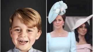 Принц Джордж сред най-стилните известни личности