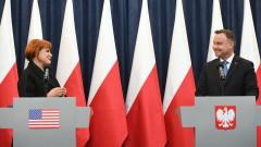 Поляците могат да пътуват до САЩ без визи от понеделник, обяви Дуда